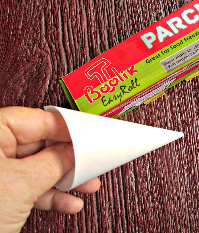 Parchment paper makes great icing tubes for small jobs