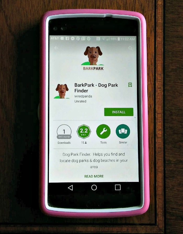 Download dog friendly apps for a successful trip