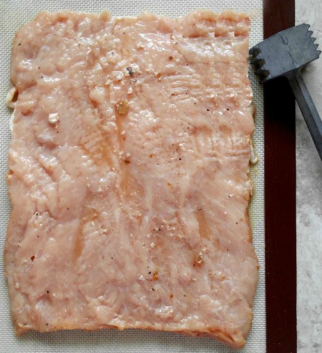 Tenderize the pork