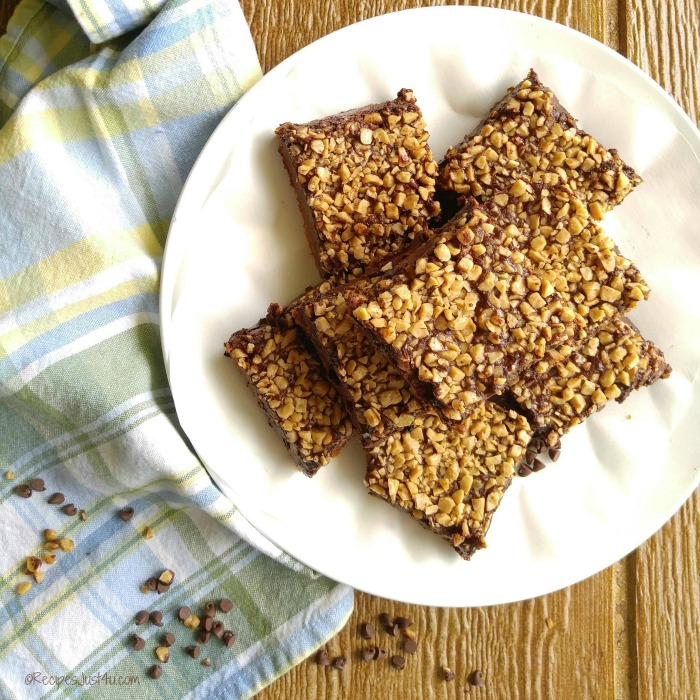 These Heath English Toffee bars are easy to make and taste just like a Heath Candy bar
