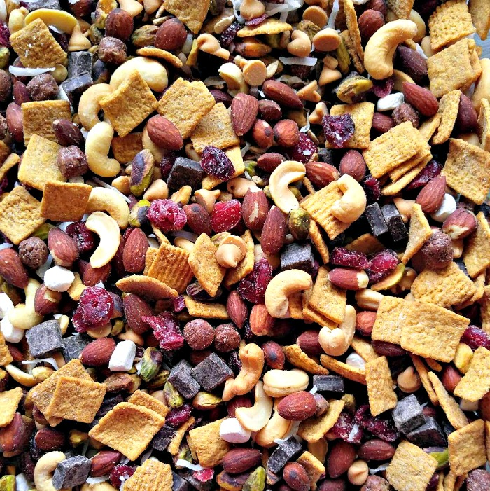 Finished S'mores trail mix