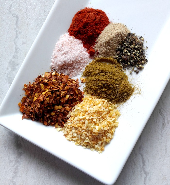 7 spices go into this recipe