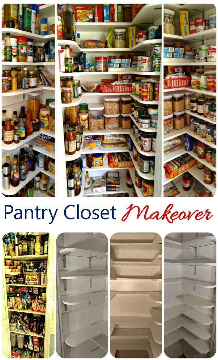 Pantry Closet Makeover Tutorial