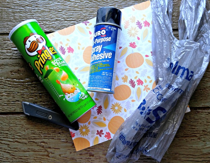Supplies for my Grocery Bag Dispenser