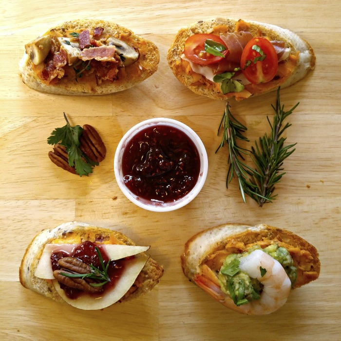 Keep party appetizers easy. Crostini are simple to make and guests love them.
