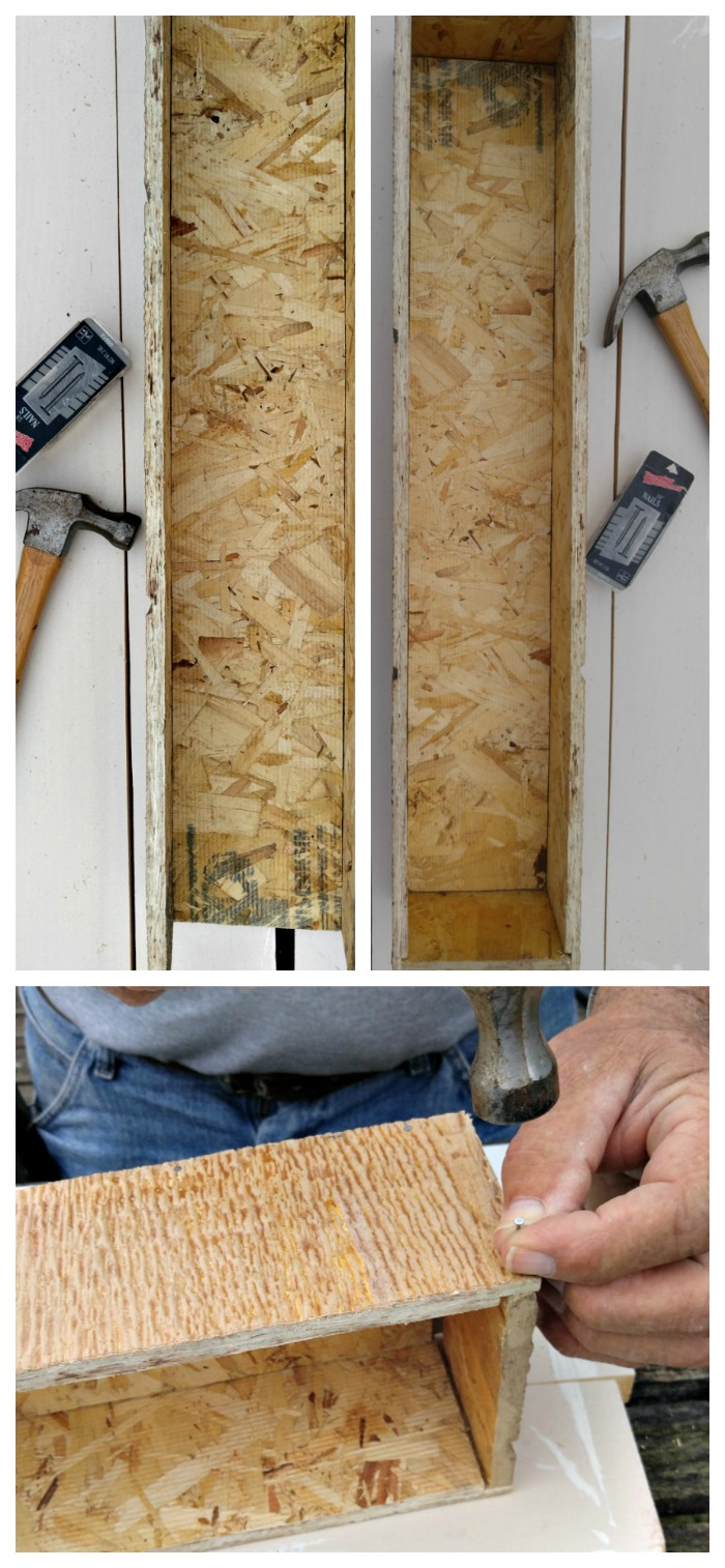 Make a box out of the reclaimed wood.
