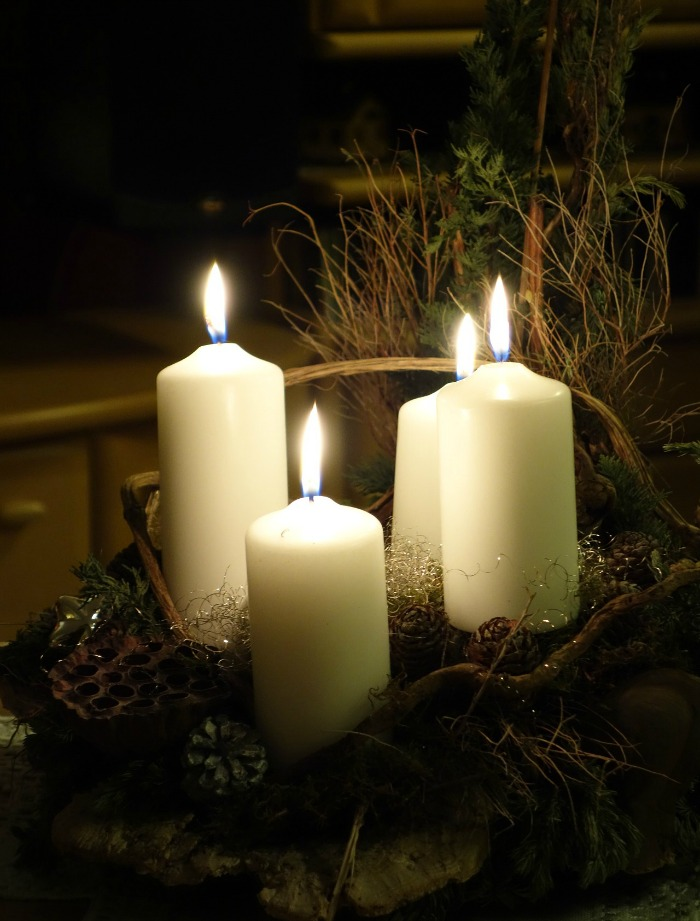 Set the mood for your party by using candles