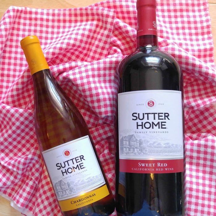 Sutter Home Family Wines - Chardonnay and Sweet Red