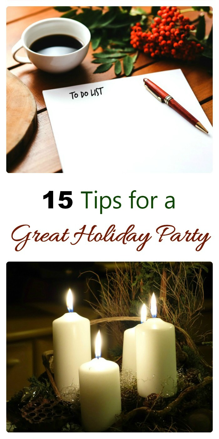 Use these tips to create the best holiday party ever.
