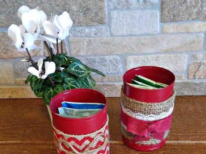 Add tea bags to the jars