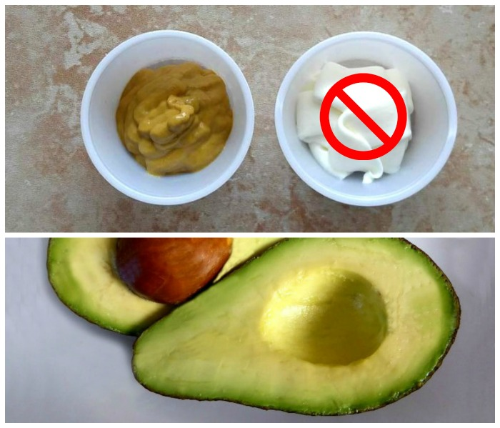 Mustard and avocados can replace mayo in sandwiches
