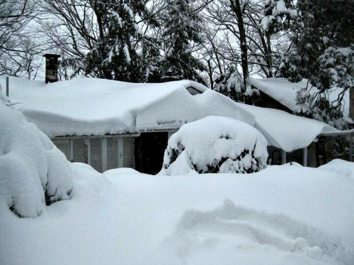 Snowed in in New Jersey
