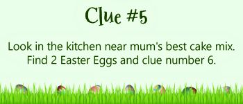 Build an Easter Basket with clues - #5