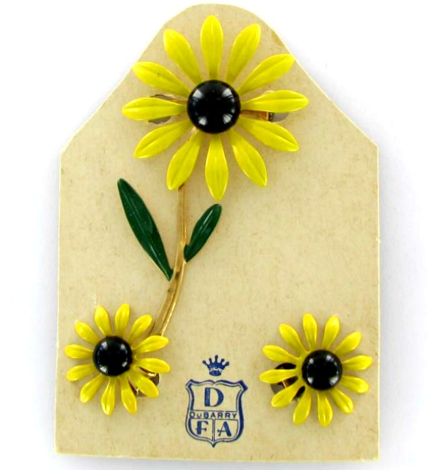 Flower pins great gifts for garden lovers the gardening cook dubarry flower pin set mightylinksfo
