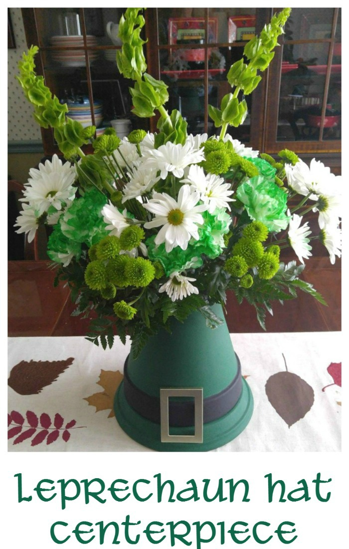 St. Patrick's Day Leprechaun Hat Centerpiece