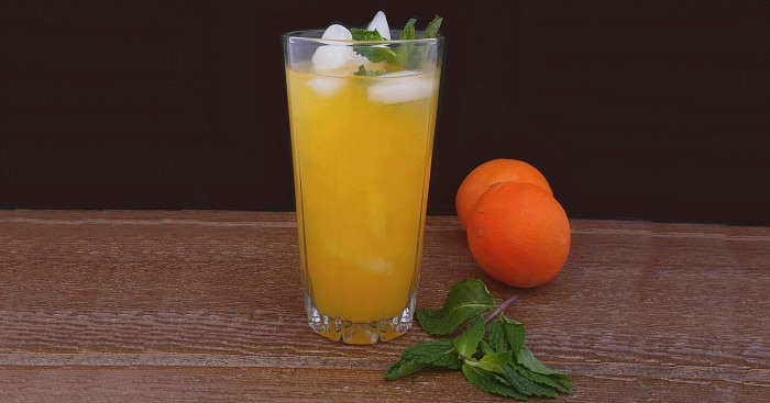 Orange Cherry Mocktail