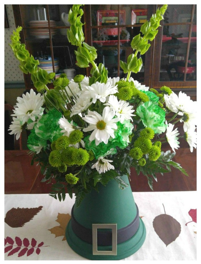 St. Patricks' Day Hat Centerpiece