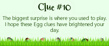 Build an Easter Basket with clues - #10