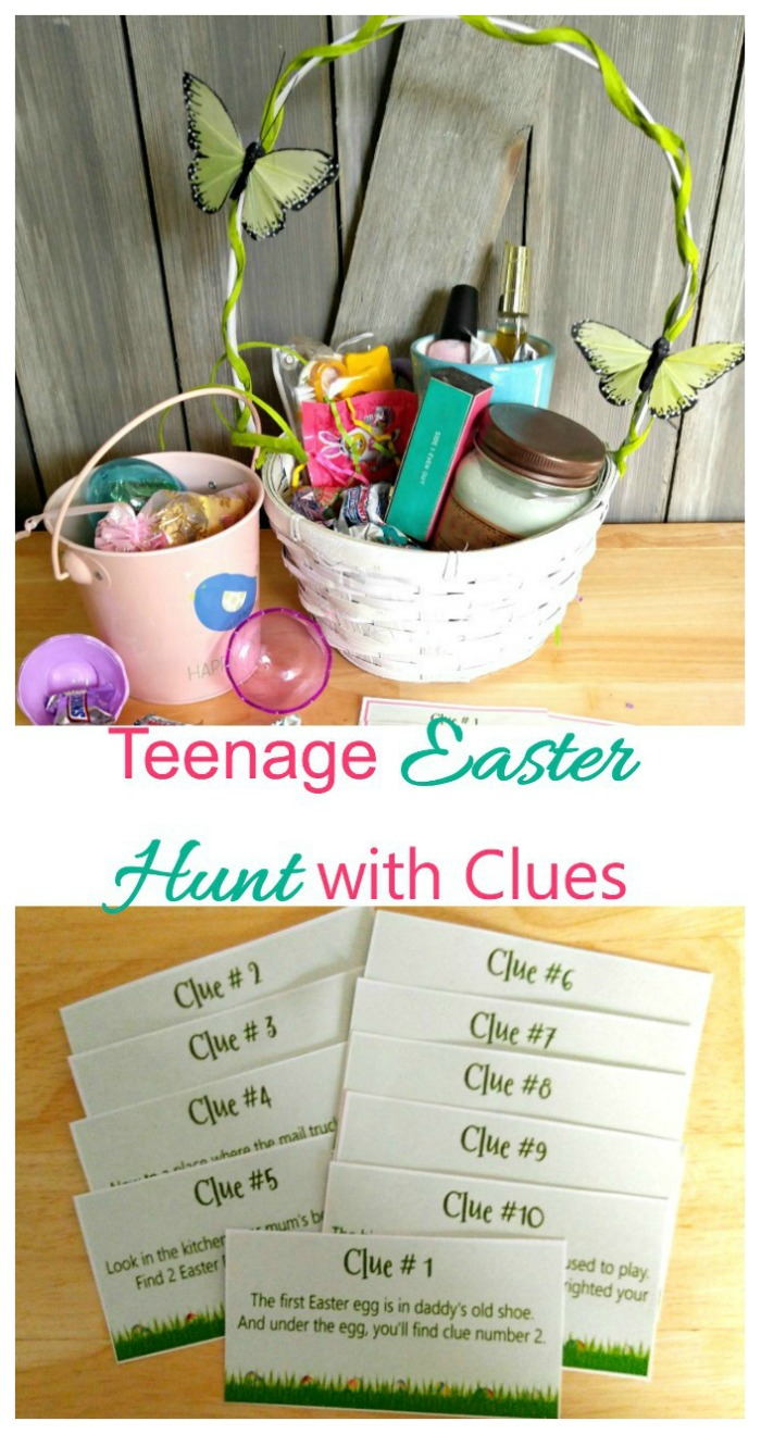 It's time to build an Easter Basket with Clues. Click through to find out how to do this.