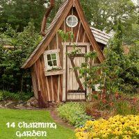 14 charming garden sheds