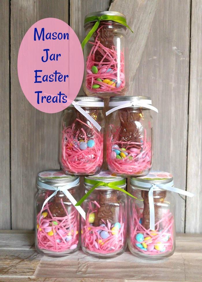 Mason Jar Easter Treats