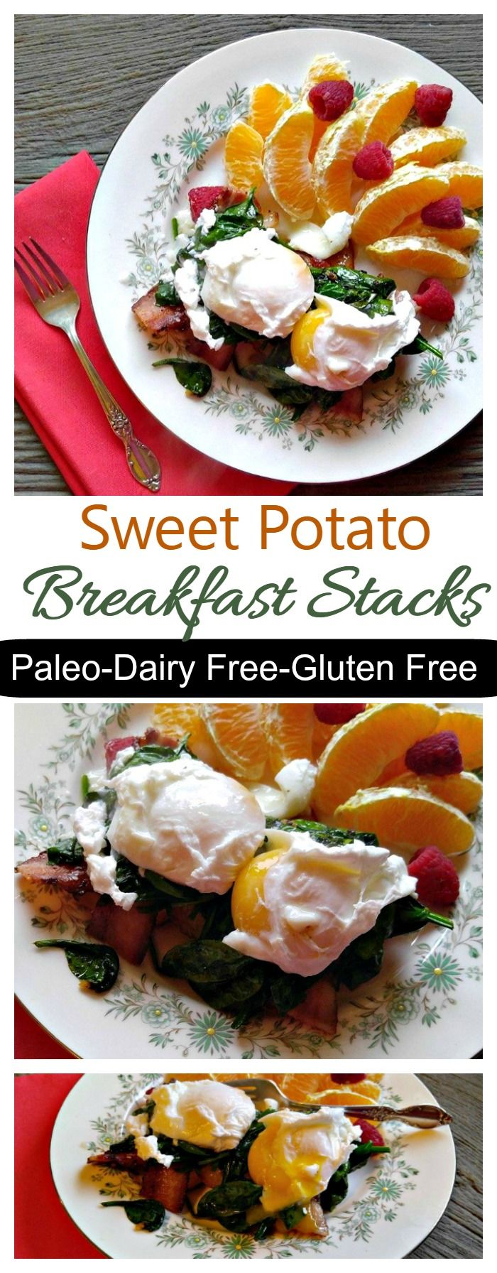 These sweet potato breakfast stacks have amazing layers of hearty flavor that will keep you full (and satisfied) until lunch time.
