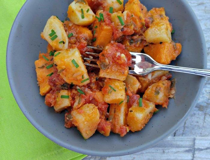 take a bite of these Italian sweet potatoes
