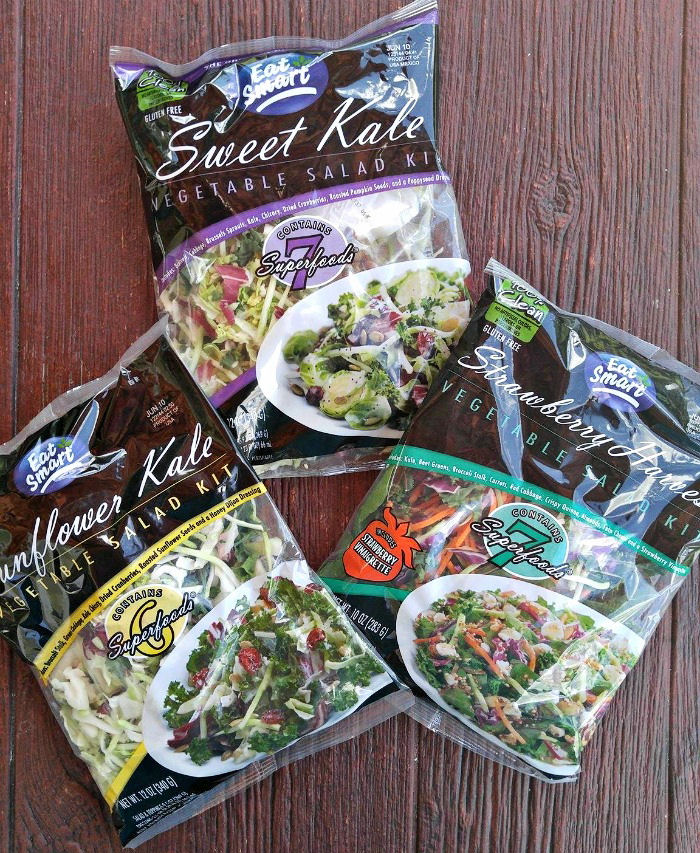 Eat Smart salad kits make a fast and tasty lunch