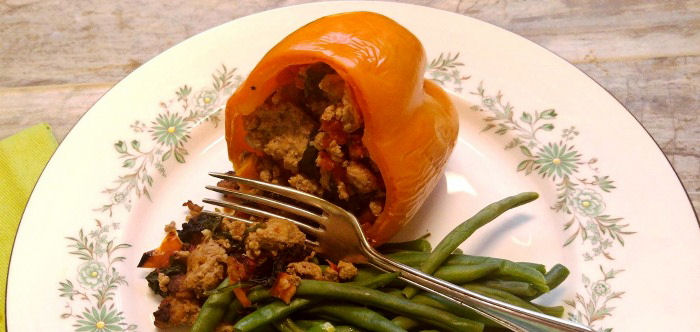 take a bite of these paleo stuffed peppers