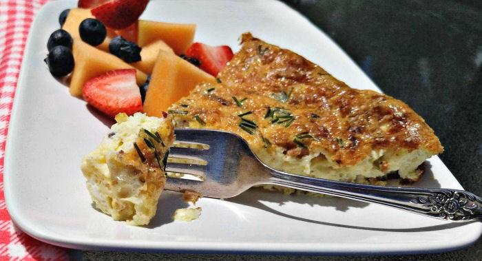 Take a bite of this delicious quiche recipe.