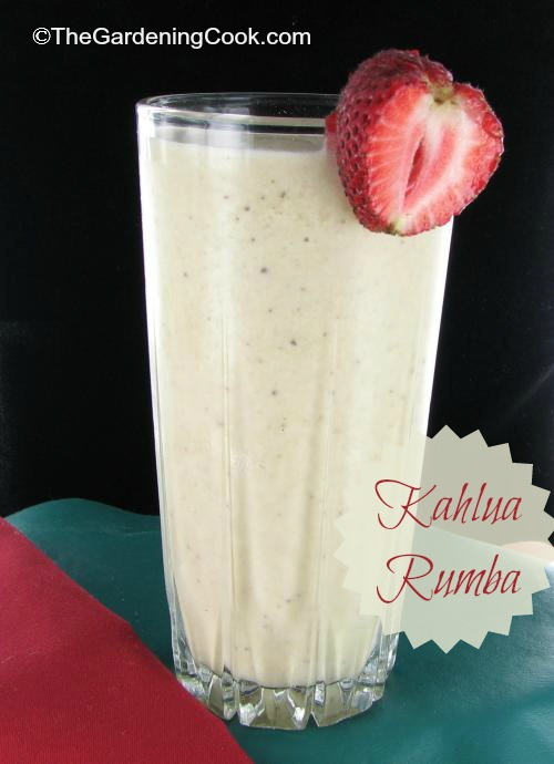 Kahlua Rumba adult milk shake.