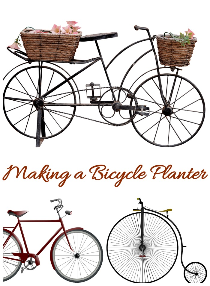 Tips for making a bicycle planter