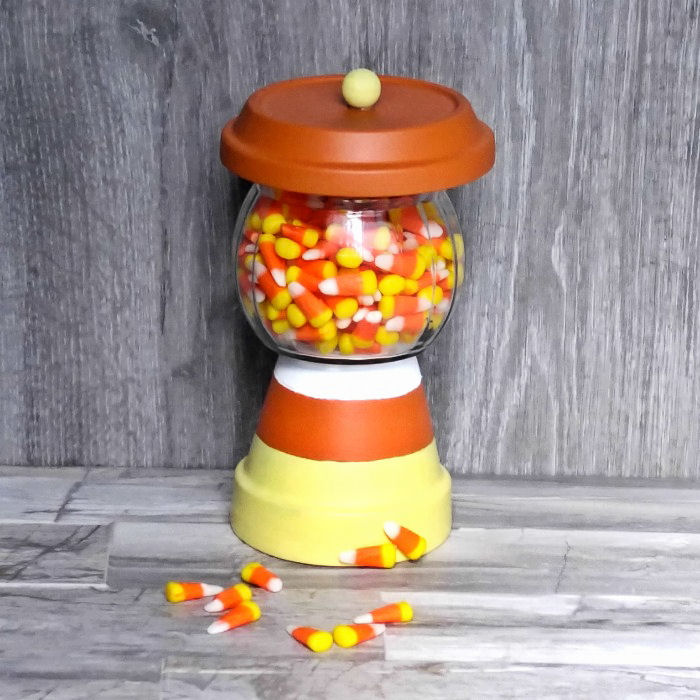 Candy corn holder