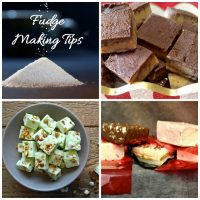 Fudge making tips