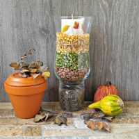 hurricane lamp centerpiece