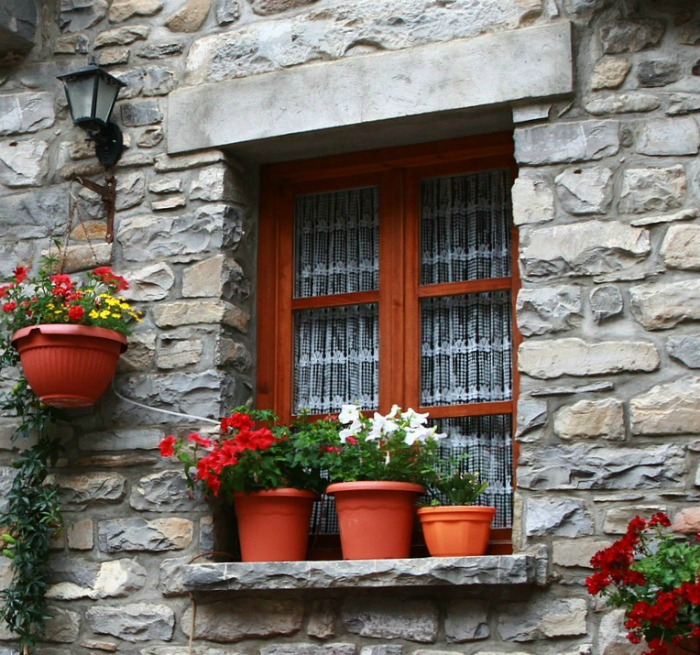 Window box look