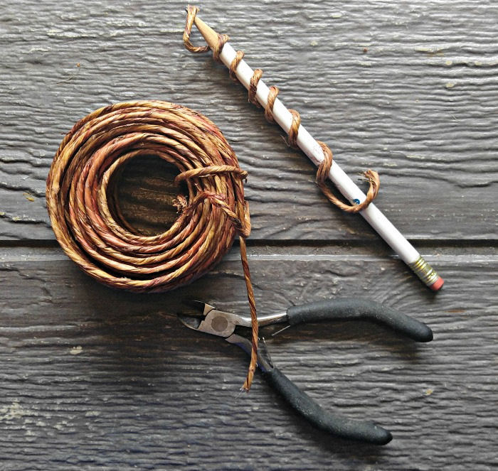 curly cue wire making