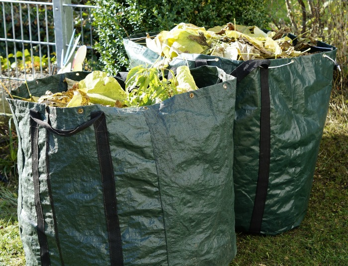 Clean up the garden waste in the fall for an easy spring start.