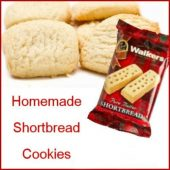 Scottish shortbread cookie recipe