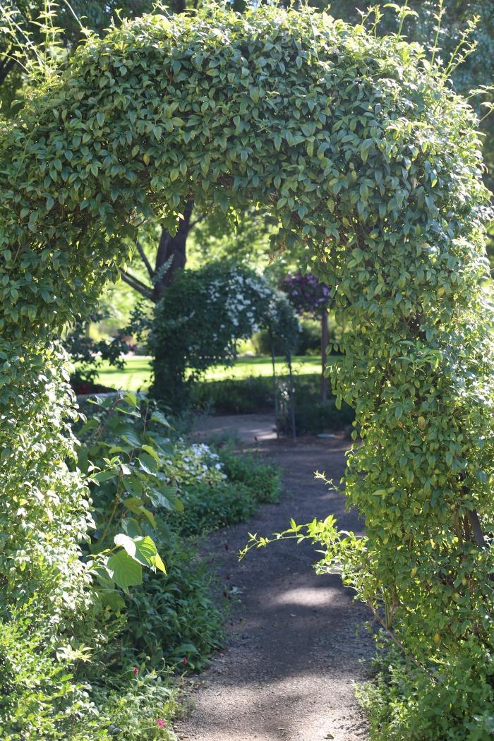 Natural Garden Arch