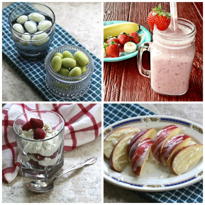 These healthy sweet snacks are good for you heart and your waistline.