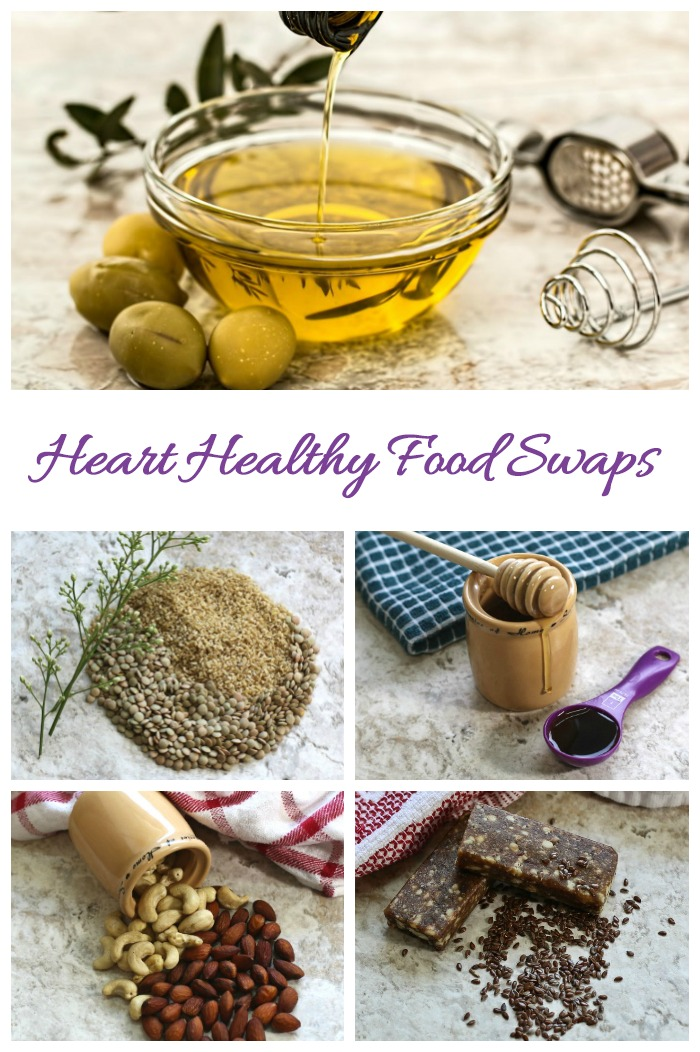 These heart healthy food substitutes are small steps that you can use to help control coronary artery disease