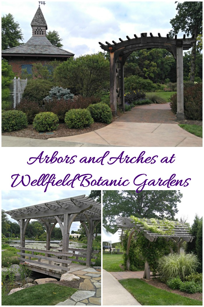 Arbors and Arches at Wellfield Botanic Gardens