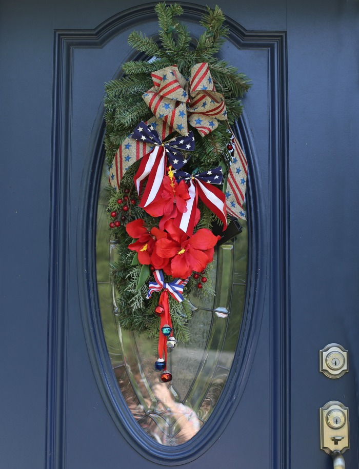 4th of July door swag