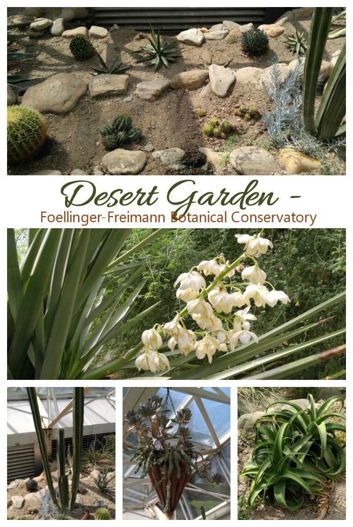 Desert Garden of the Foellinger-Freimann Botanical Conservatory
