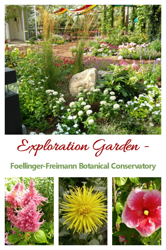 Exploration garden of the Foellinger-Freimann Botanical Conservatory