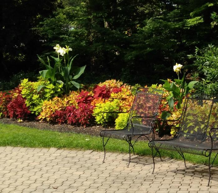 terrace garden Foellinger-Freimann Botanical Conservatory