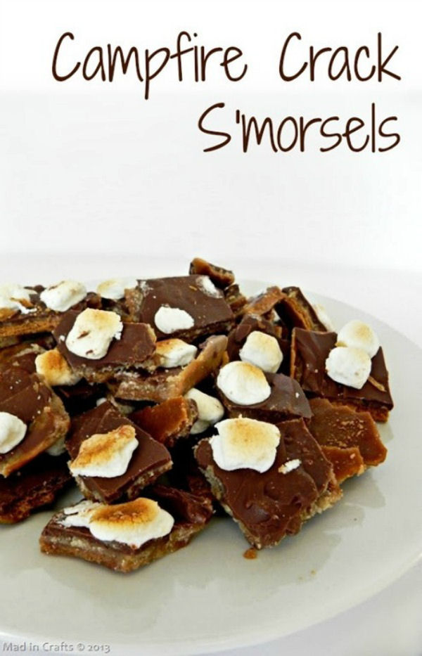 Campfire Crack Smorsels from Mad in Crafts