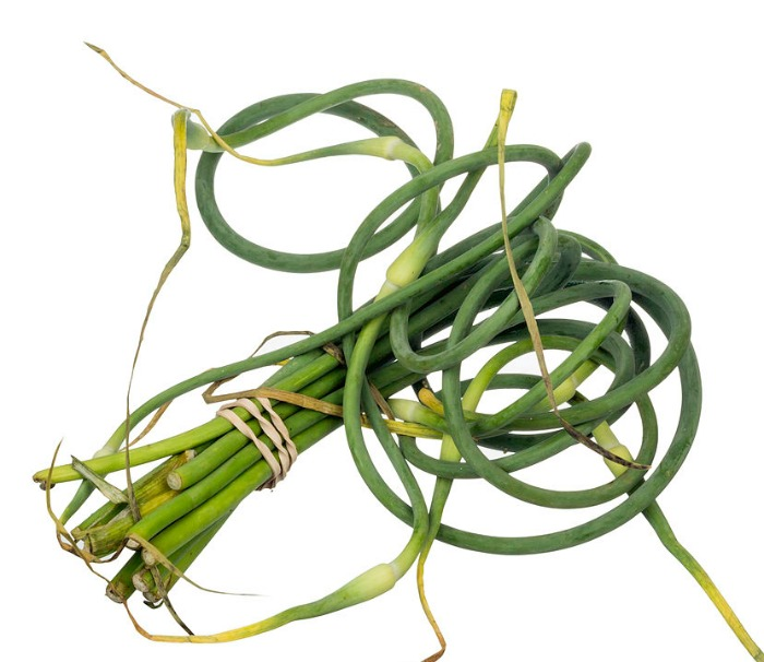 use Garlic scapes as a substitute for shallots
