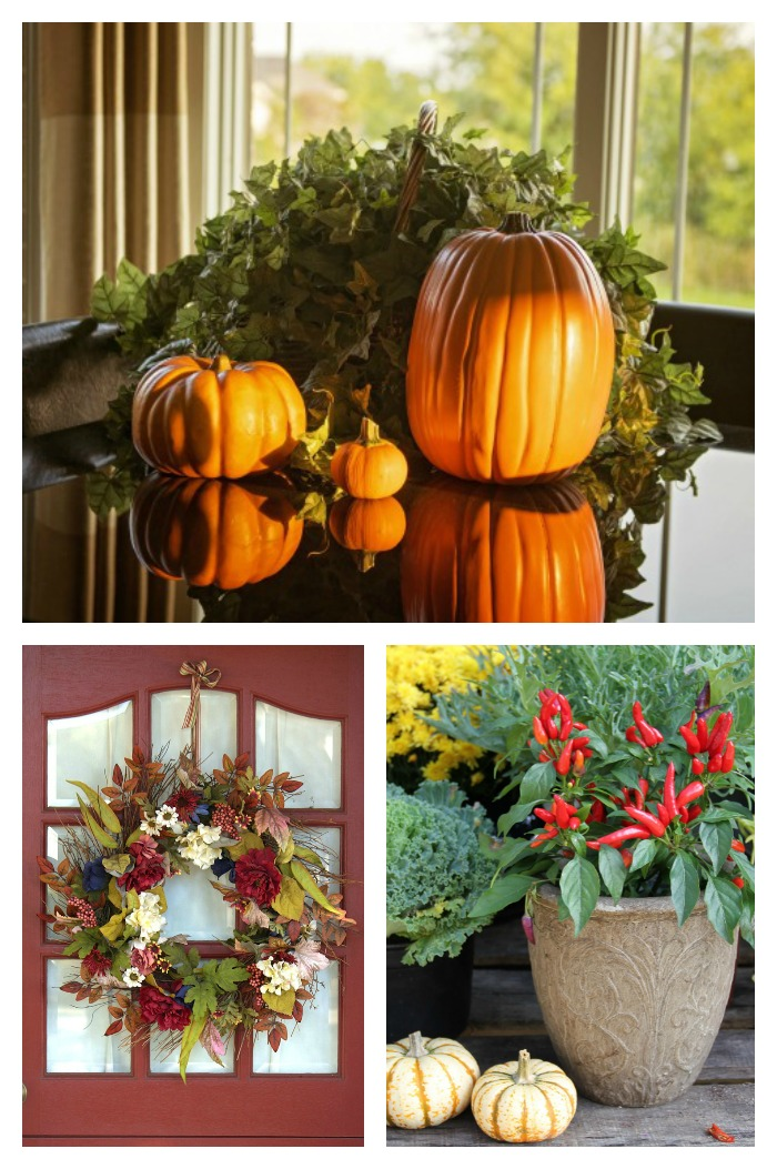Natural And Easy Autumn Decor Ideas